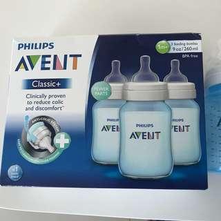 Avent Classic+ Feeding Bottles (2 bottles)