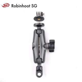 Smnu Motorcycle cam gopro sjcam mounting set