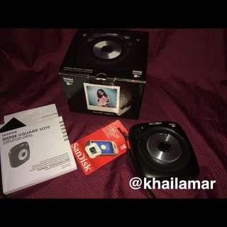 RUSH!! Fujifilm Instax SQ10
