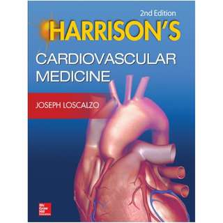 Ebook Harrisons Cardiovascular Medicine 2nd Edition