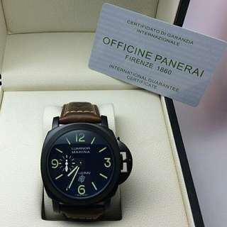 Authentic Panerai watch.