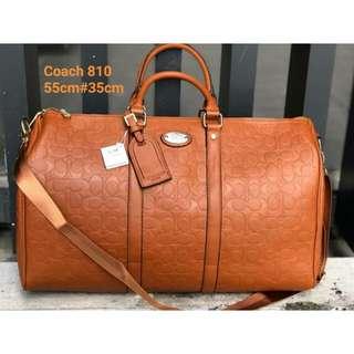 COACH TRAVEL BAG (BROWN)