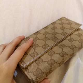 (Used)Authentic Gucci Long Wallet