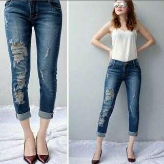 Ripped jeans 7/9