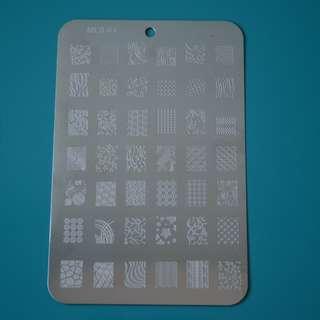 Nail Stamping Plate