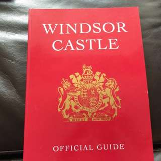 book - windsor castle britain