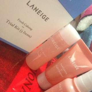 Preloved Laneige Fresh Calming Trial Kit
