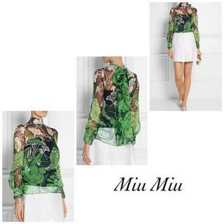 Miu Miu Blouse with Cami