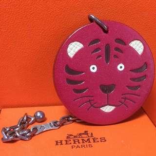 Hermes 愛馬仕限量版老虎仔鎖匙扣 Key Chain Cles Limited Tiger
