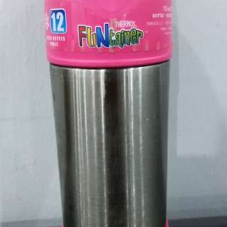 Genuine Thermos stainless steel Funtainer (355ml)