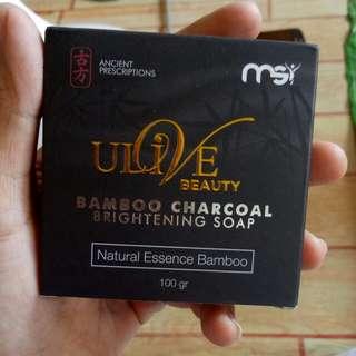 Ori BAMBOO CHARCOAL Brighthening soap
