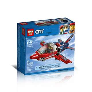 LEPIN 02098 Cities Airshow Jet