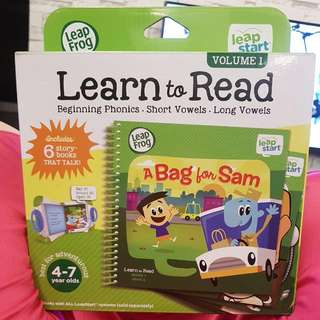 Leapfrog Learn To Read Vol 1