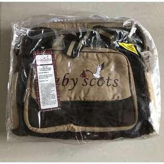 Tas Baby Scots, Tas Bayi, baby diaper bag