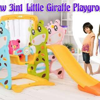 New 3in1 Little Giraffe Playground  Rm355 sem  Pm Wasap 0176725125