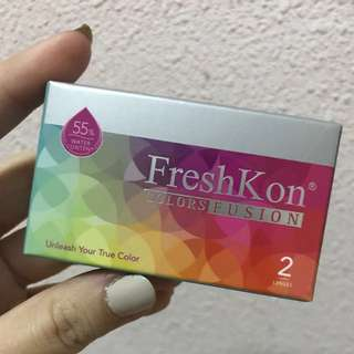 Fresh Kon contact lens