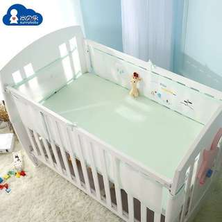 [in-stock] Baby Cot Breathable Mesh Crib Liner / Bumper