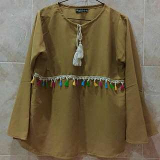 Brown Blouse (Real Elsire)
