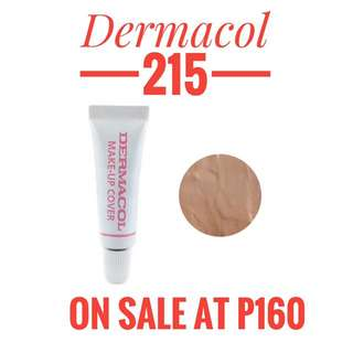 AUTHENTIC DERMACOL TESTER 215