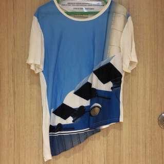 Asymmetric tshirt