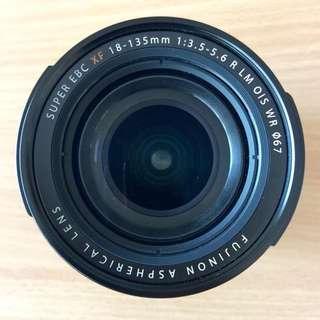 Fujifilm 18-135 lens