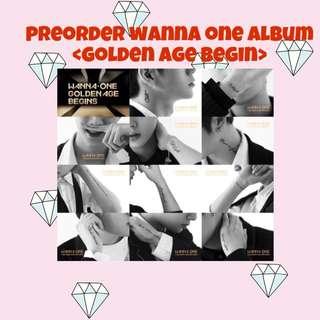 WANNA ONE <GOLDEN AGE> 3RD ALBUM