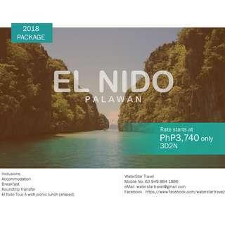 AFFORDABLE EL NIDO, PALAWAN PROMO PACKAGE