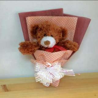 2018 Valentines Collections: Teddy Bear Bouquet