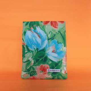 Painted Florals Book Sleeve
