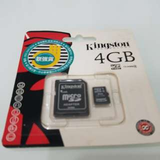 Kingston Micro SD卡 4GB