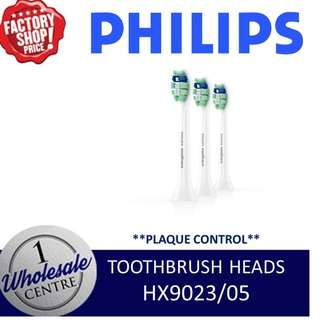 PHILIPS HX9023/05 PLAQUE CONTROL TOOTHBRUSH HEADS