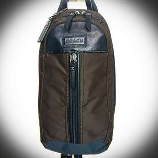 Authentic Coach Men Varick Sling Backpack (code: F70692)