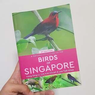 Birds of Singapore book