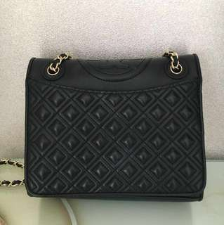 Tory burch fleming medium quilted