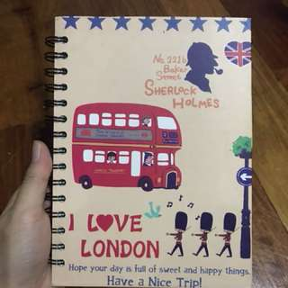 London Sherlock Notebook