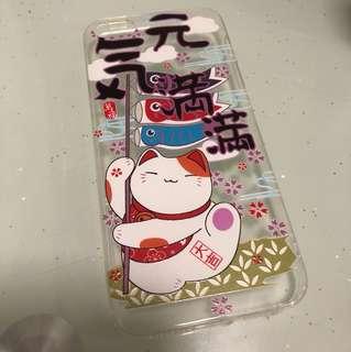 iPhone 5s se 機殻 招財貓
