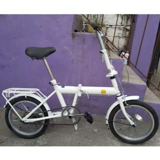 JAZZBERRY FOLDING BIKE (FREE DELIVERY AND NEGOTIABLE!)