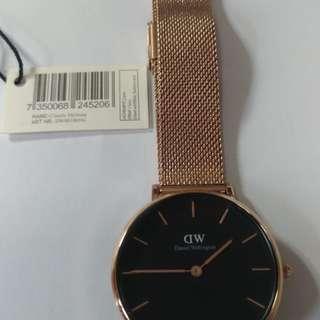 Dw 32mm鋼帶錶