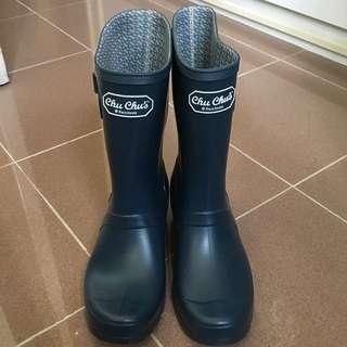 Chu chu's rain boots 韓國中筒雨靴 (blue)