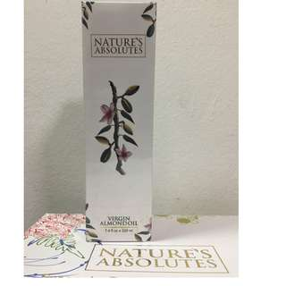 Virgin Almond Oil 220ml by Nature's Absolutes from India