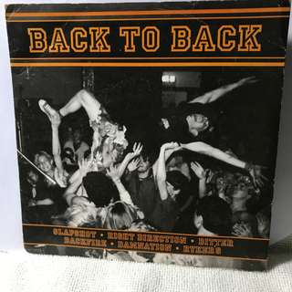 "Back To Back 7"" EP 45Rpm Colour Disc Record - Pl refer to the record covers."