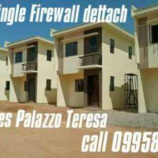 House and Lot Single Firewall