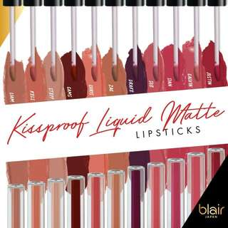 Blair Kissproof Liquid Matte Lipstick