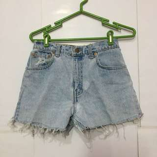 Levis hot ripped pants