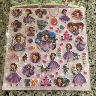 Authentic Sophia Puffy Sticker