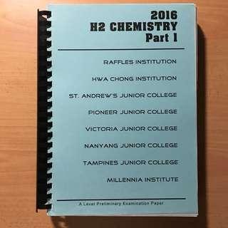 <2016 H2 Chemistry Part 1> Book