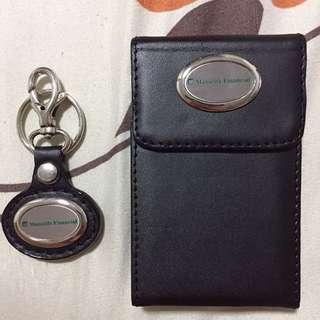 Manulife Financial card holder n keychain