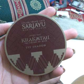 Sariayu eyeshadow krakatau series
