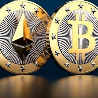 Ethereum & Bitcoin for sale!