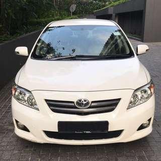 Toyota Altis 1.6 Auto